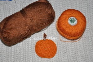 Pumkin and the thread used