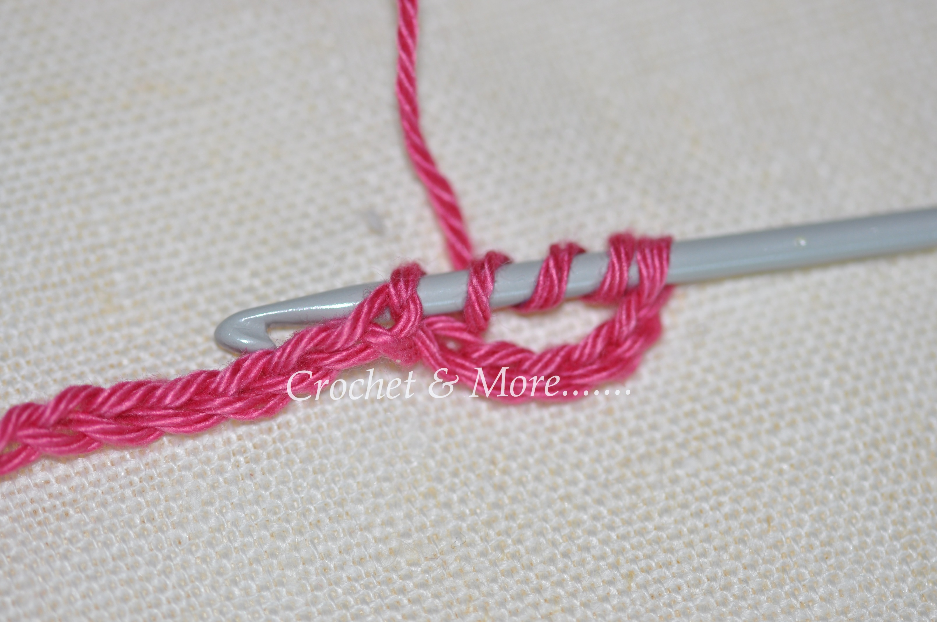 Crochet Stitches Tr : Beginner?s Basic Crochet Stitches - Tr and dtr crochetnmore