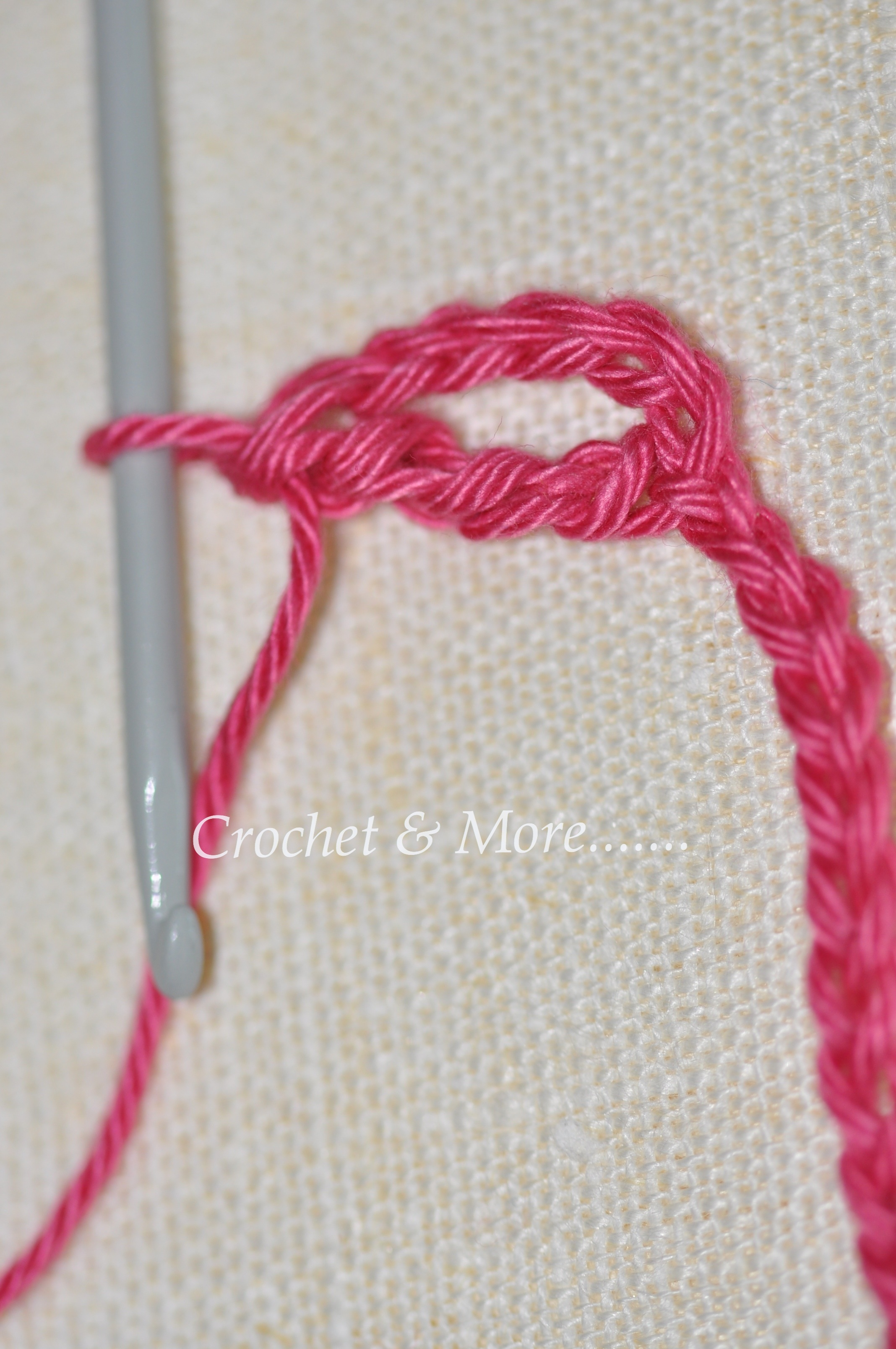 Crochet Stitches Dtr : Beginner?s Basic Crochet Stitches - Tr and dtr crochetnmore