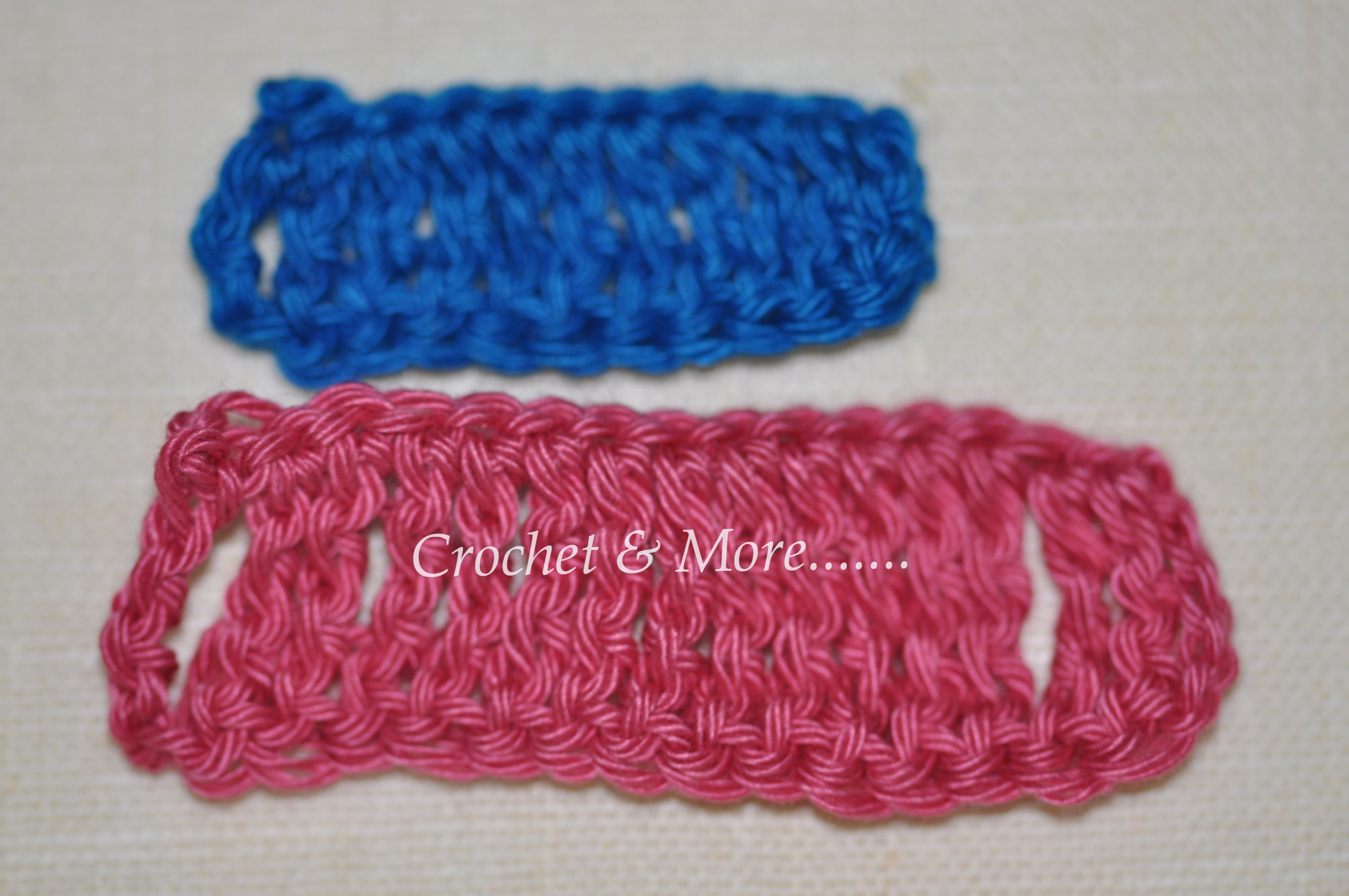 Crochet Stitch Quad Tr : ... learn how to crochet a treble stitch and the double treble stitch