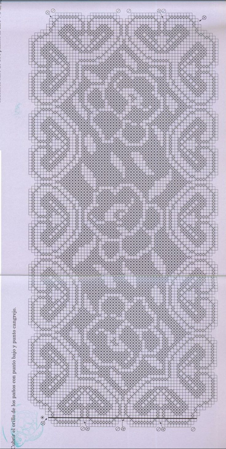 filet crochet increase and decrease crochetnmore