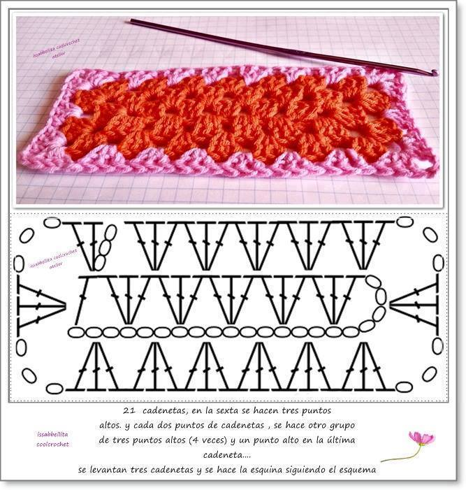 Crochet Patterns Rectangle : Crochet Rectangles crochetnmore
