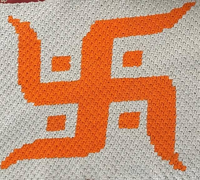 Suvastika Pattern In C2c Crochetnmore